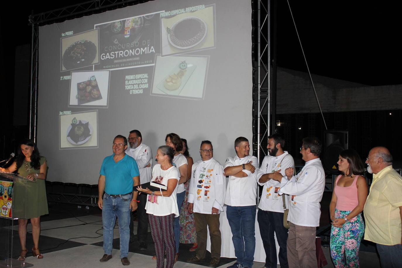 Cinco premiados entre los 20 platos presentados al concurso gastronómico del Ramo
