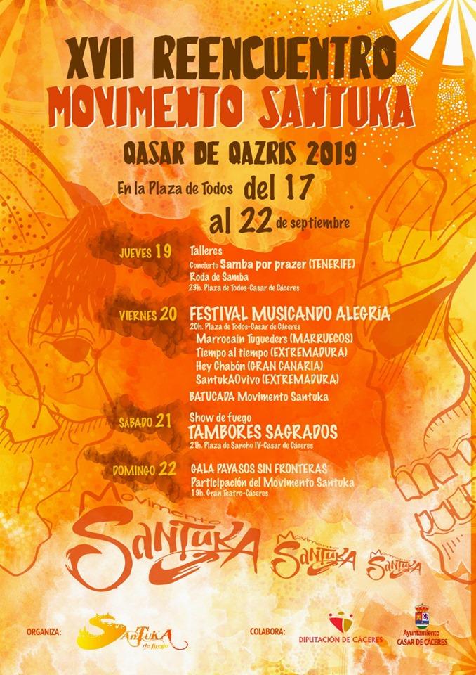 El Movimiento Santuka se reencuentra desde hoy y hasta el día 22 en la localidad