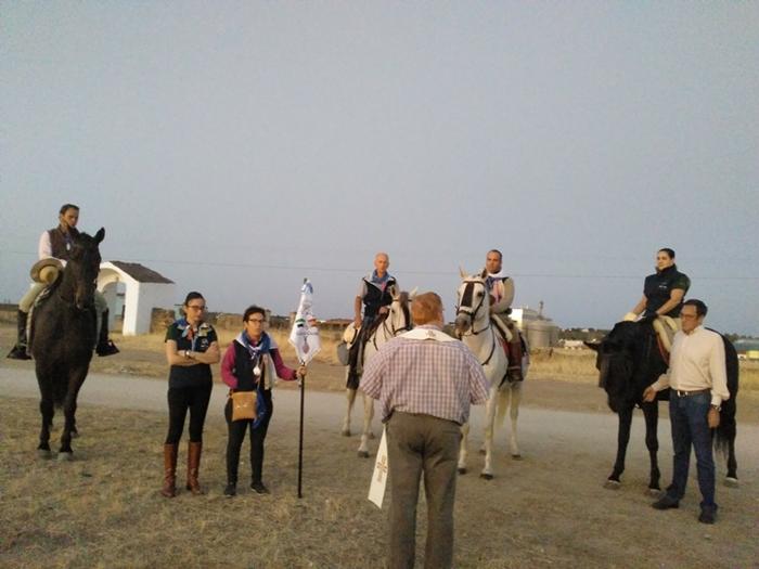 Integrantes de la Asociación Ecuestre Virgen del Prado peregrinan desde hoy a Guadalupe