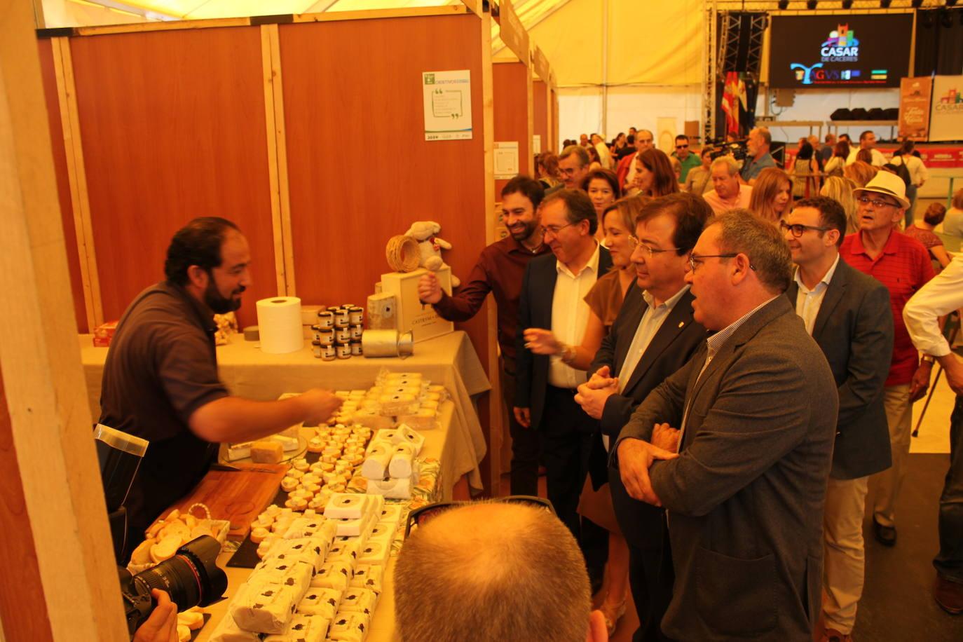 Casar de Cáceres pretende que su Feria Europea sea el evento quesero más importante del otoño en la región