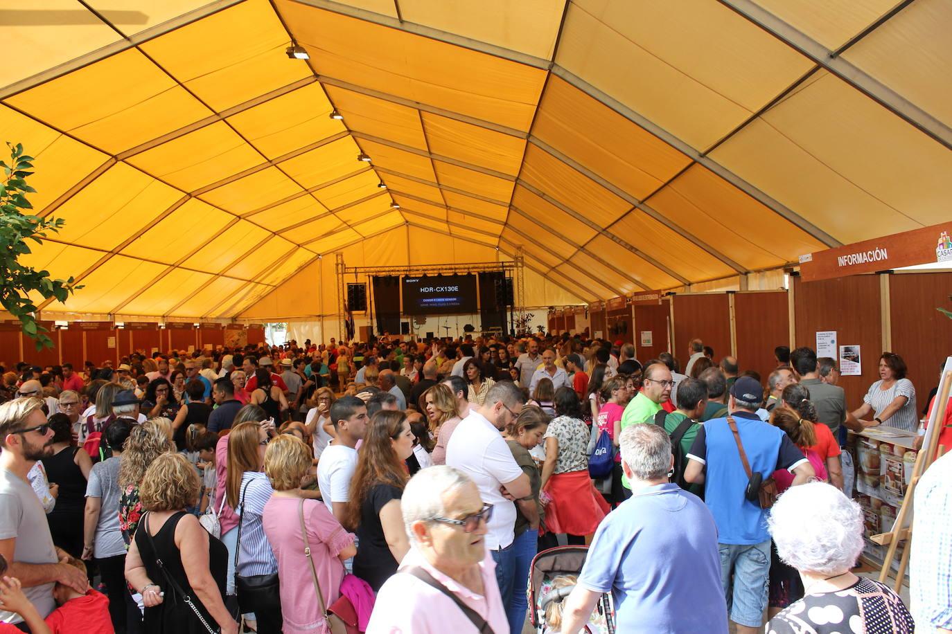Casi 30.000 tickets de tapas vendidos en la IV Feria Europea del Queso