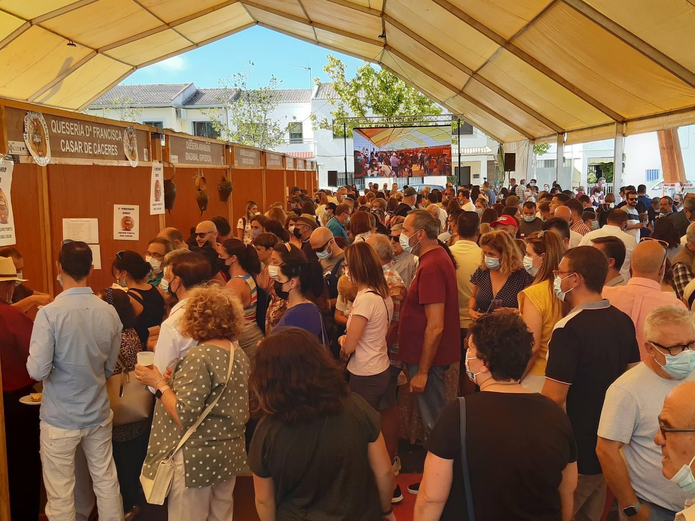 La V Feria Europea del Queso bate récord: 40.000 tickets de degustación vendidos en cuatro días