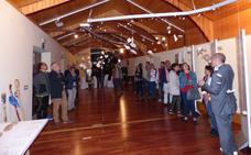 La exposición 'Camino de piedras' se inauguró en el Museo del Turrón