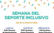 La Semana del Deporte Inclusivo se celebrará del 22 al 26 de octubre