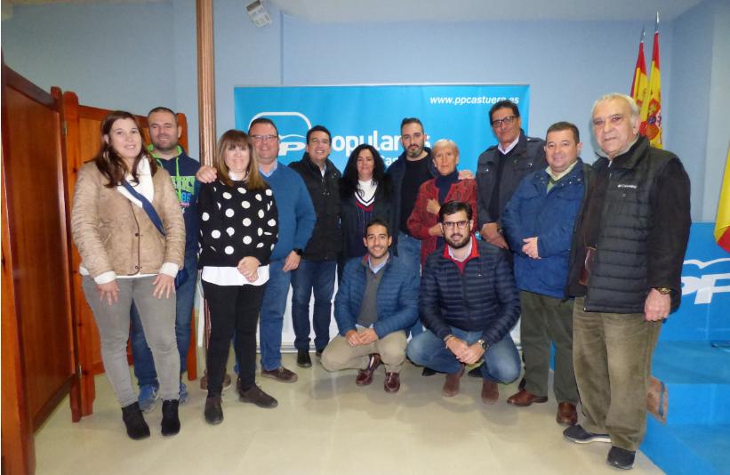 El PP de Castuera celebró una junta local con la presencia de Fernando Manzano