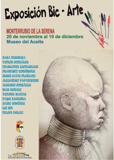 La exposición 'Bic-Arte' inicia su recorrido por la comarca de La Serena