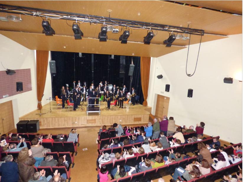 La Escuela y la Banda Municipal de Música programan conciertos y audiciones por Santa Cecilia