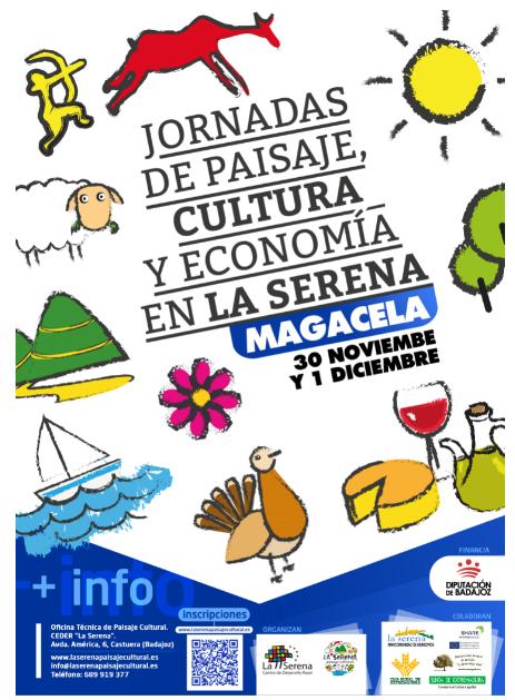 Las jornadas 'Paisaje, Cultura y Economía de la Serena' se celebrarán en Magacela el 30 de noviembre y 1 de diciembre