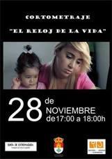 El Espacio para la Creación de Joven (ECJ) de Castuera acoge la proyección del cortometraje 'El Reloj de la Vida'