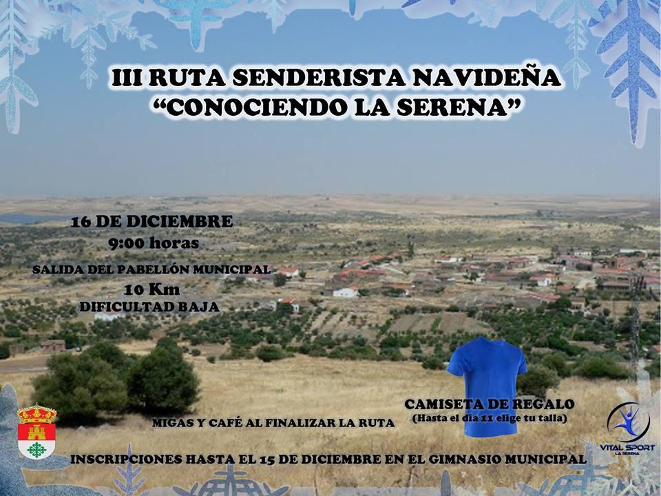 Abierta la inscripción para la ruta senderista de Navidad 'Conociendo La Serena'