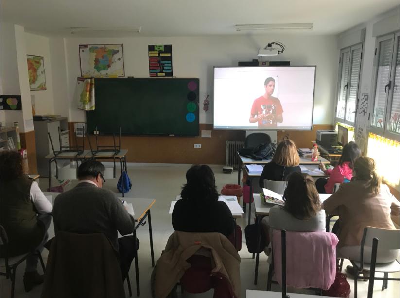 Adiser-Horizontes forma y sensibiliza en discapacidad a diez colegios de la provincia de Badajoz