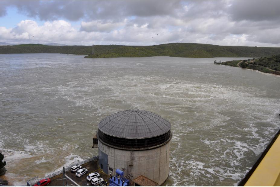 La central hidráulica del embalse de La Serena cumple 25 años