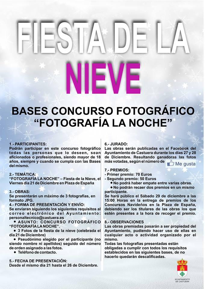 El Ayuntamiento convoca el concurso navideño de fotografía 'Fotografía la Noche'