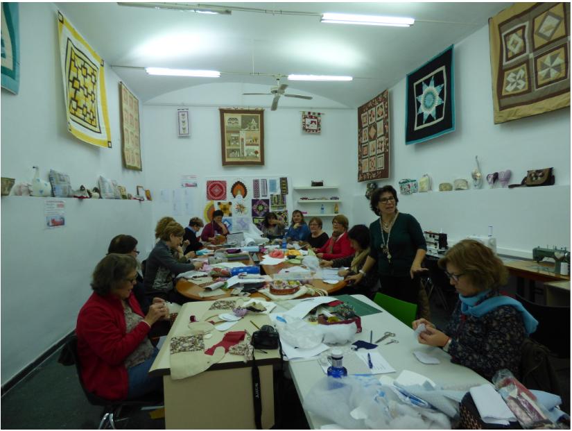 El taller de artesanías textiles organiza el V Encuentro de Patchwork