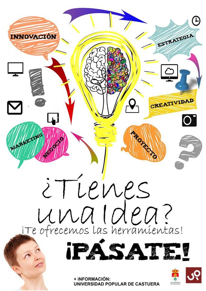 Acompañamiento a emprendedores en la Universidad Popular de Castuera