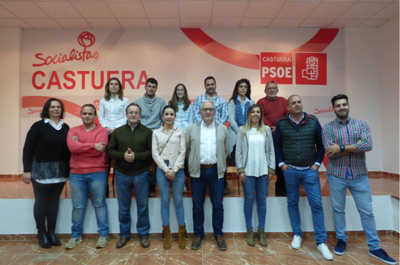 El PSOE de Castuera presenta su lista de candidatos para las elecciones municipales