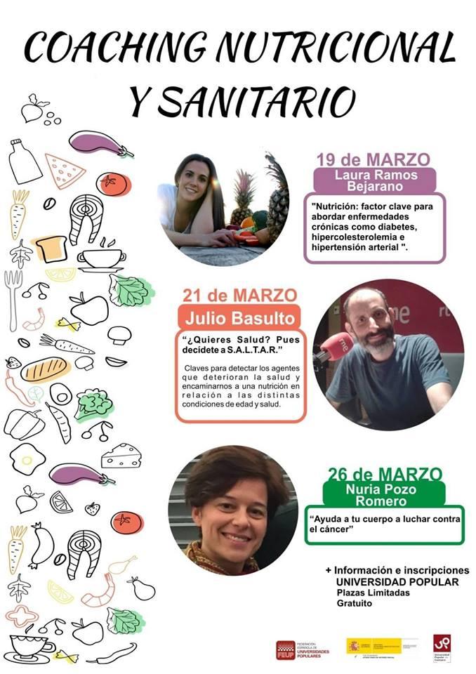 La Universidad Popular programa un Coaching nutricional y sanitario