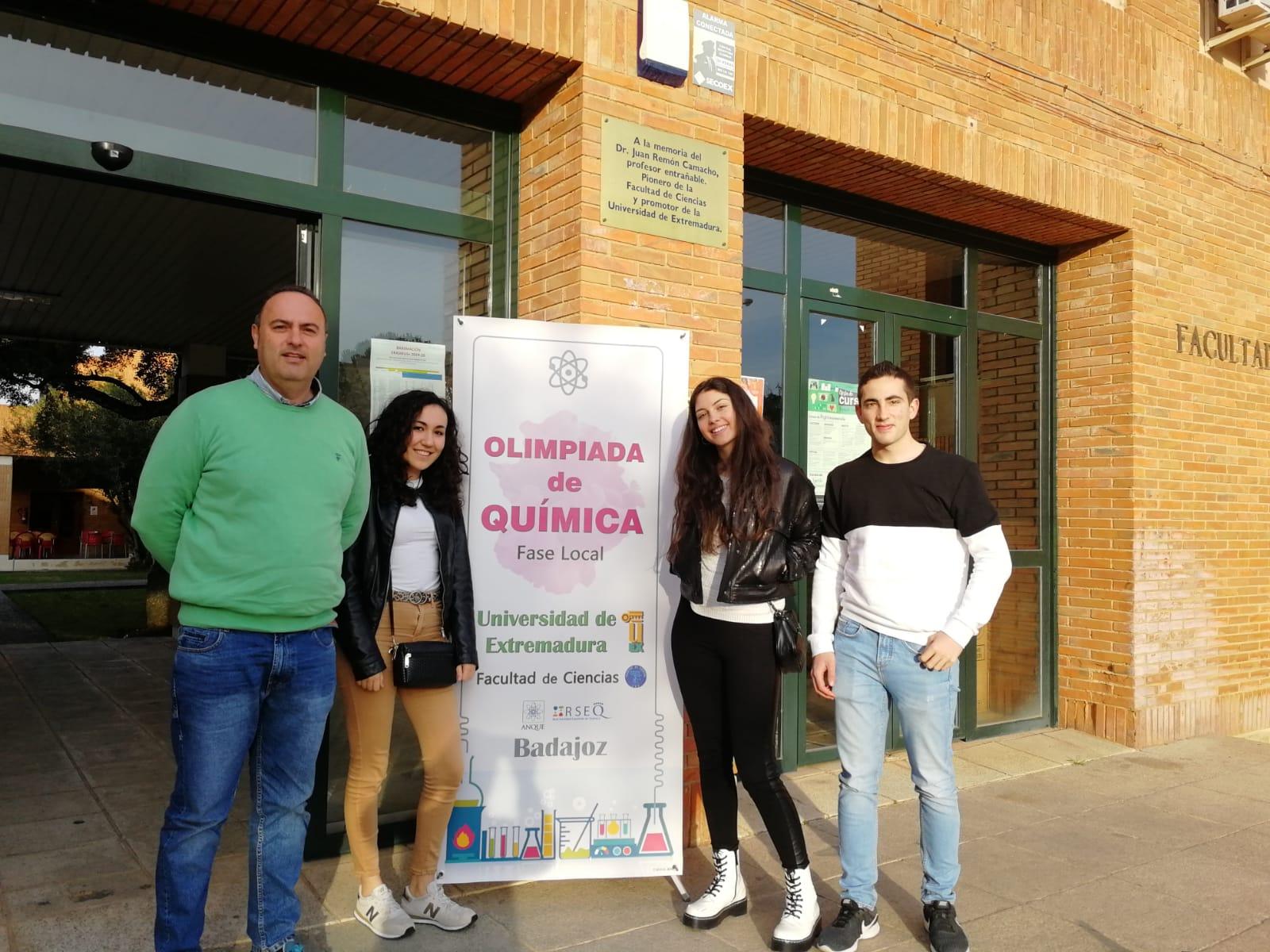 El alumno del IES Castuera, Juan José Romero Fernández, gana las Olimpiadas de Química de la Universidad de Extremadura
