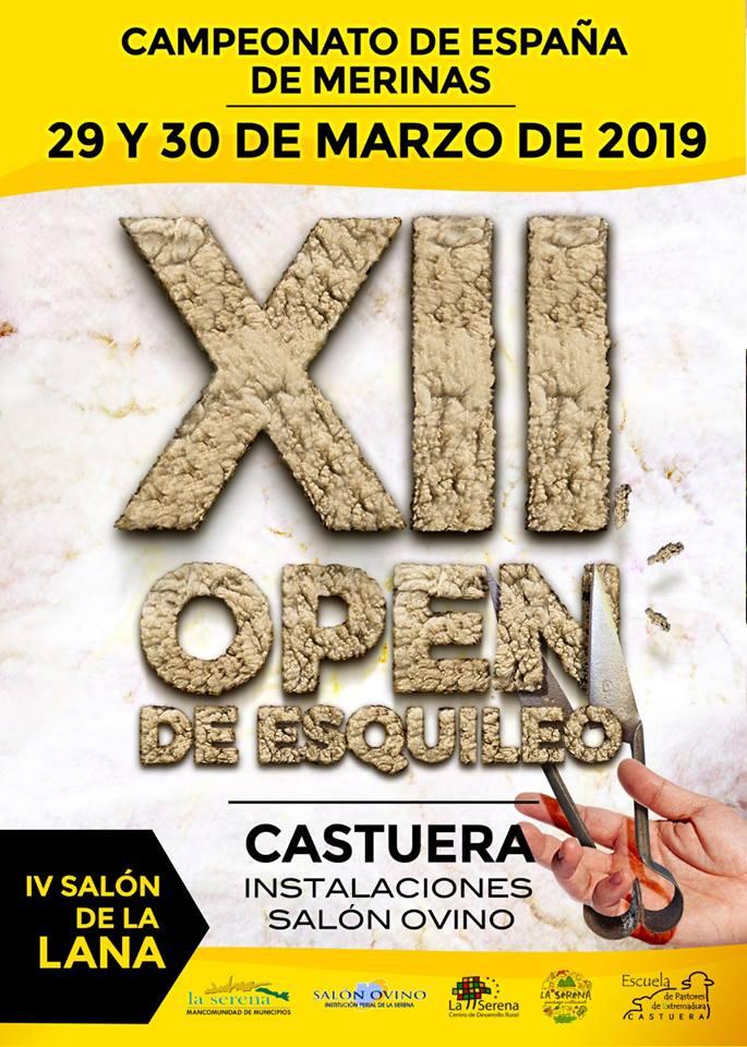 Presentado el programa del Campeonato de España de Esquileo de Merinas