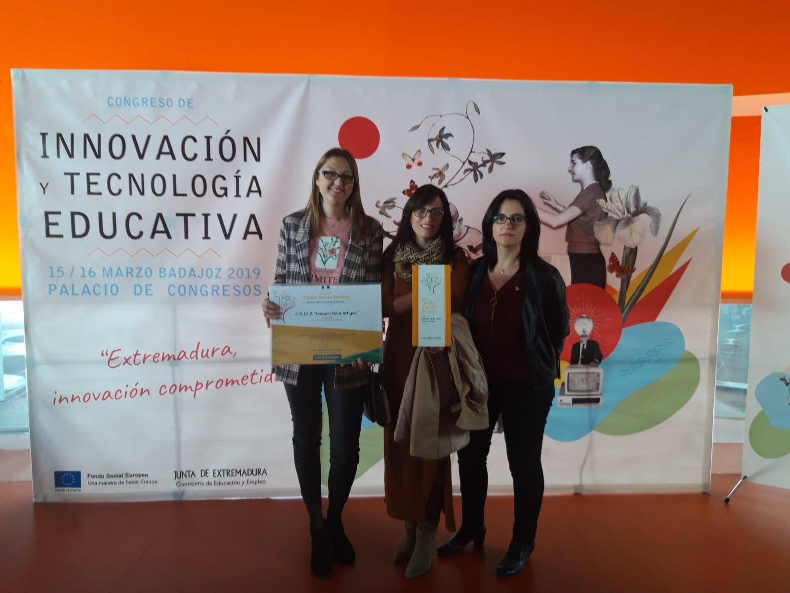 El colegio Joaquín Tena Artigas galardonado con uno de los premios Tomas García Verdejo