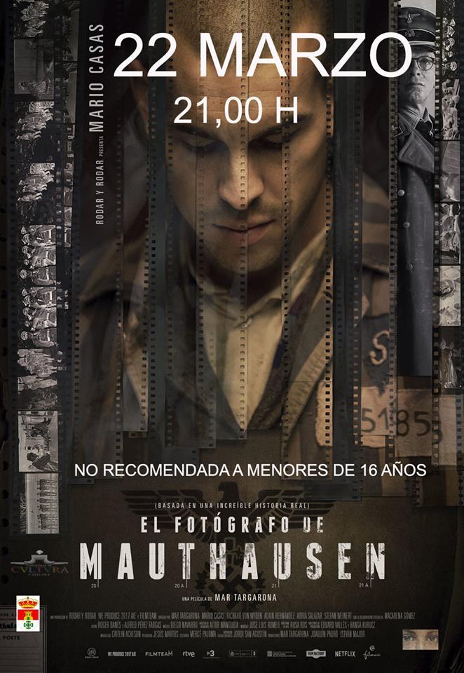 El auditorio del Centro Cultural la proyección de la película 'El fotógrafo de Mauthausen'