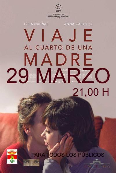 El auditorio del Centro Cultural proyecta este viernes 29 de marzo la película 'Viaje al cuarto de una madre'