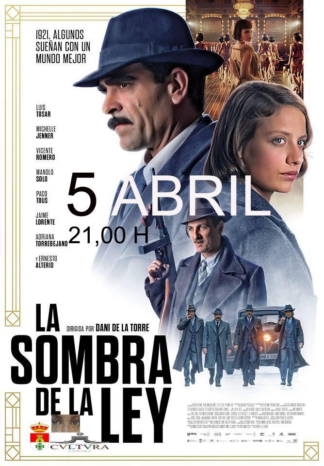 El auditorio del Centro Cultural proyecta mañana la película 'La sombra de la ley'
