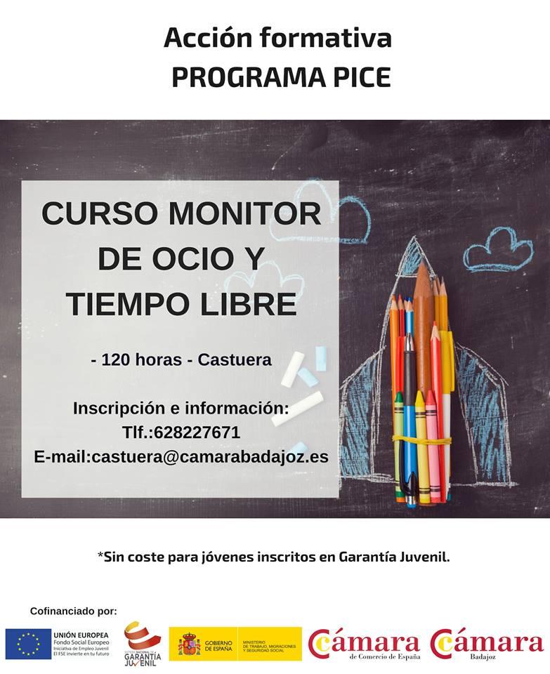 La Cámara de Comercio de Badajoz oferta un curso de 'Monitor de Ocio y Tiempo Libre'