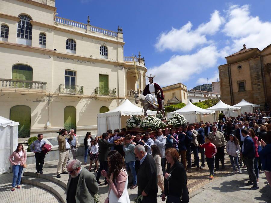 La procesión de 'La borriquita' inaugura los desfiles procesionales de la Semana Santa