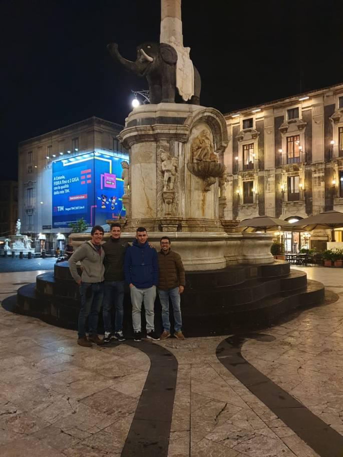 Alumnos del IES Castuera completan su formación en Italia con el programa Erasmus +