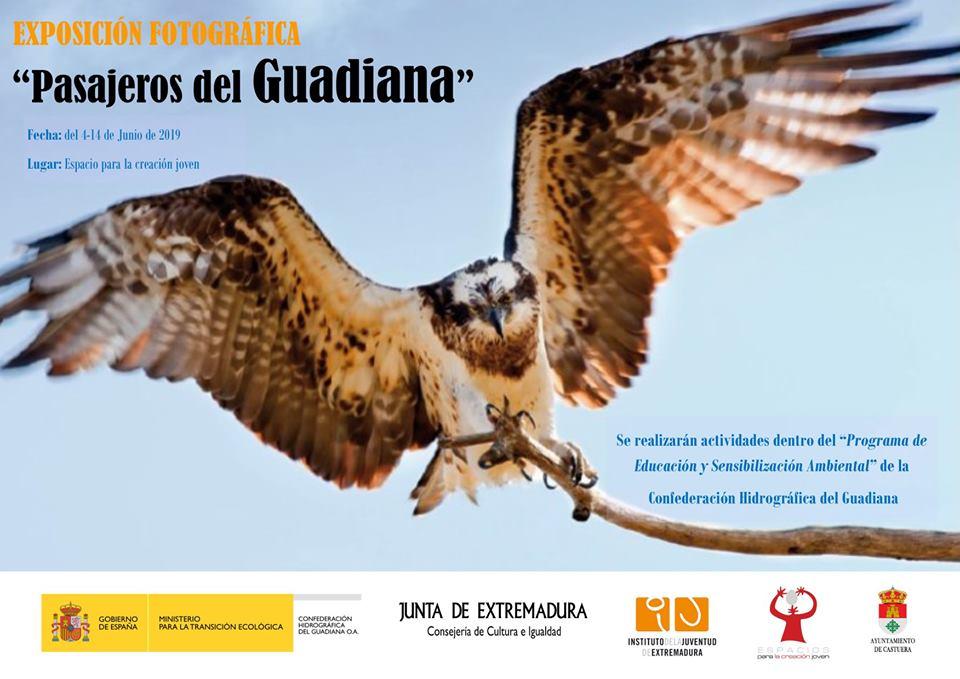 El Espacio para la Creación Joven acoge la exposición fotográfica 'Pasajeros del Guadiana'