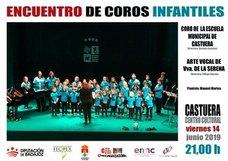 El auditorio del centro cultural acoge el viernes 14 de junio un encuentro de Coros Infantiles