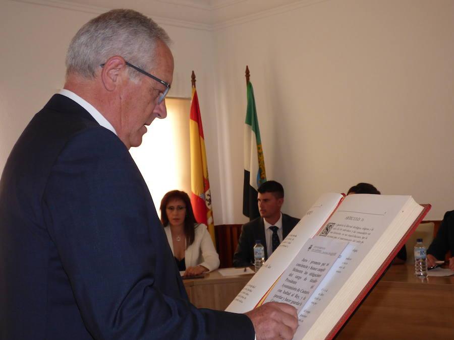 Constituida la nueva corporación municipal del ayuntamiento de Castuera