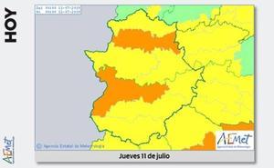 Alerta amarilla en la comarca de La Serena por altas temperaturas