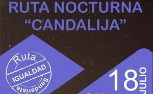 El Ayuntamiento organiza una ruta senderista nocturna por la igualdad