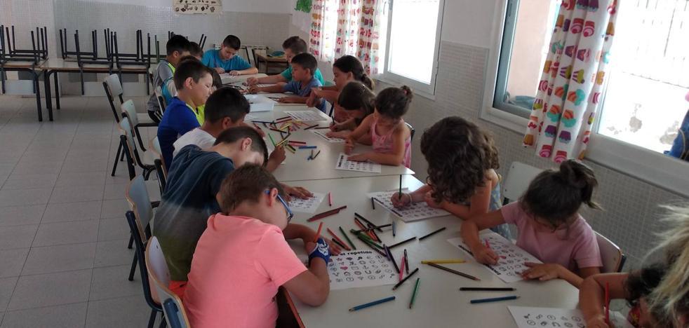 El espacio educativo saludable cuenta con la participación de 20 menores de la localidad