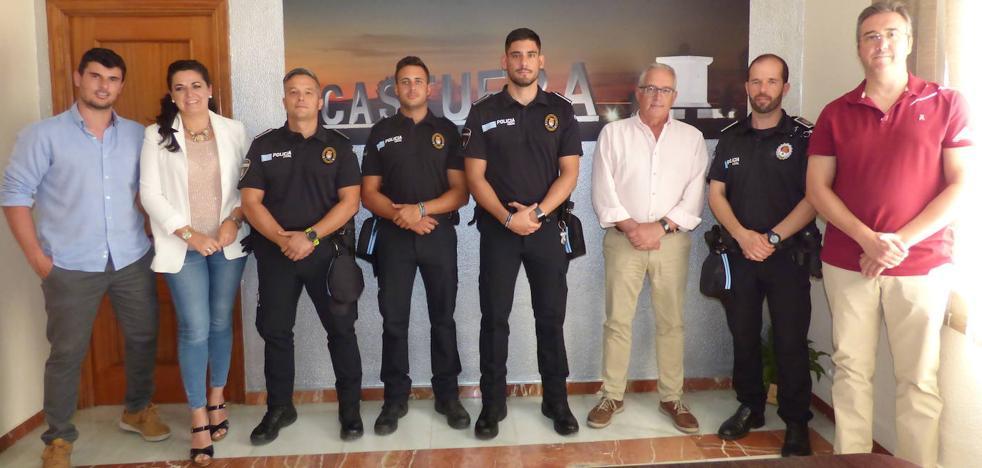 Tres nuevos agentes de Policía Local tomaron posesión de su cargo el pasado viernes