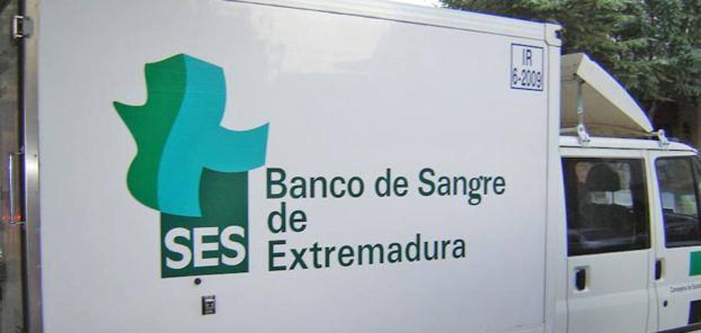 El Banco de Sangre realizará extracciones en Castuera este viernes