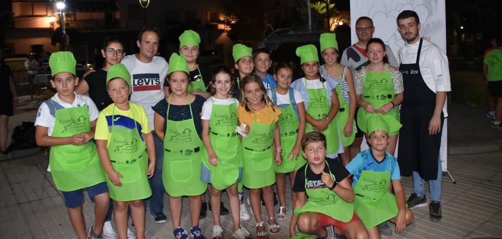 Éxito total en las rondas preliminares de concurso infantil de cocina 'Zagal Chef Corderex 2019'