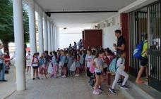 Comienza el curso académico en los centros educativos de infantil, primaria y secundaria de la localidad