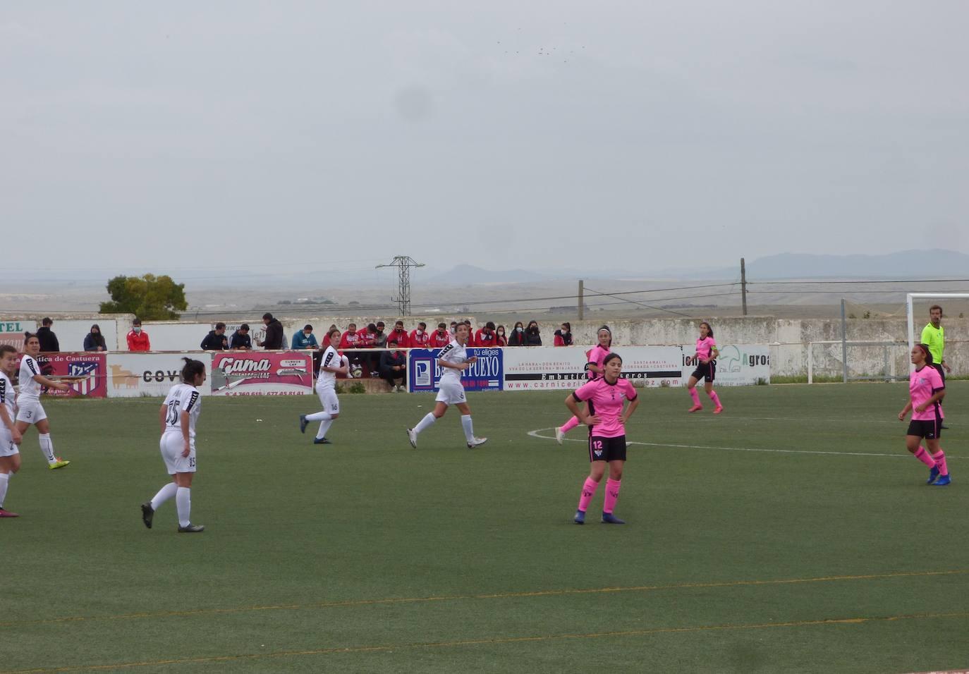 Dos victorias, un empate y cuatro derrotas, balance de los equipos del CD Castuera el pasado fin de semana