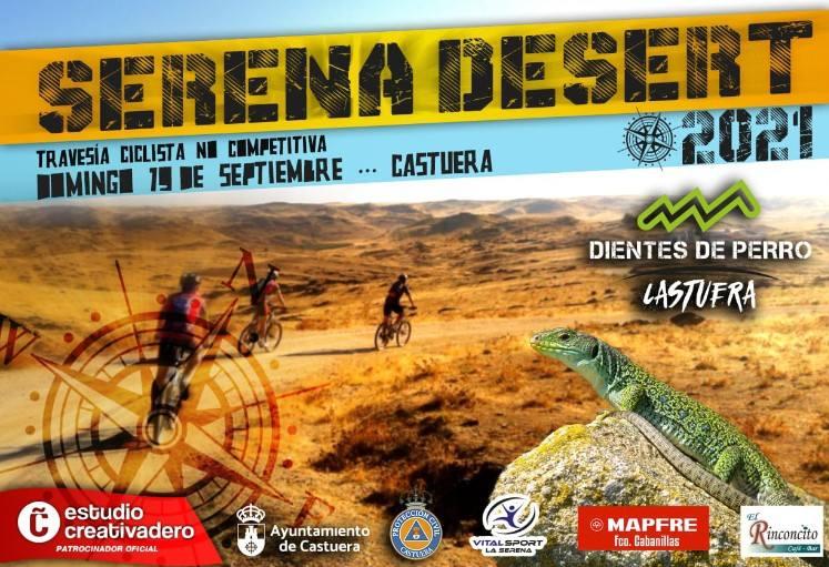Todo listo para una nueva edición de la ruta ciclista 'Serena Desert'