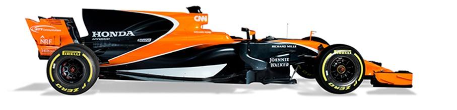 El McLaren de Alonso se rompe en la primera vuelta