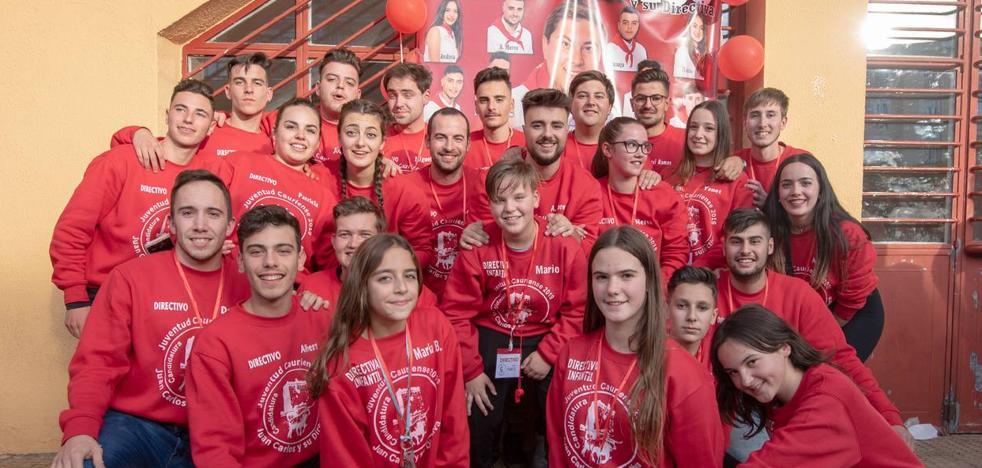 Juan Carlos Pérez nuevo abanderado de la Juventud Cauriense