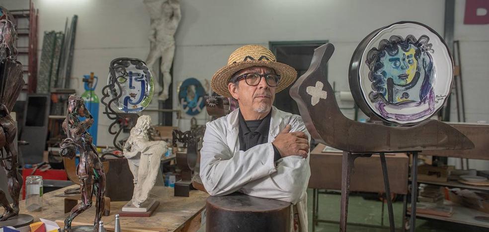 «El artista siempre se siente insatisfecho con su obra»