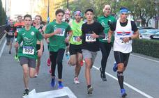 Manuel Petrón y Estefanía Domínguez ganadores de la XXII San Silvestre Cauriense