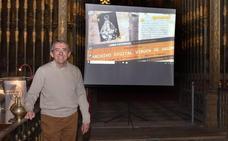 Francisco Martín ofreció la presentación del archivo digital de la Cofradía de Argeme