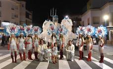 La Furia de Neptuno, Caminando entre Dinosaurios, Primavera Anticipada y El Reino de los Escorpiones ganadores del Carnaval