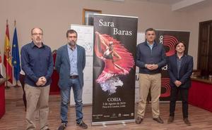Sara Baras abrirá el Festival Internacional de Guitarra 'Ciudad de Coria'