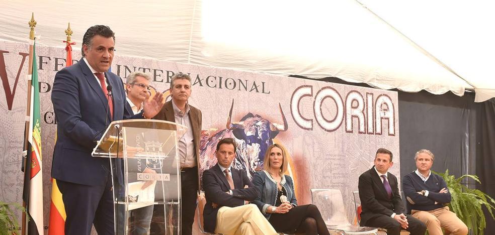 Inaugurada la Feria Internacional del Toro de Coria